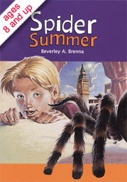 Spider Summer by Beverley Brenna