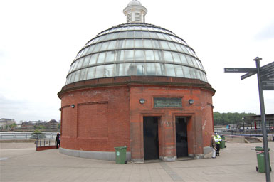 The Elevator to the Tunnel Under the Thames, Greenwich Park